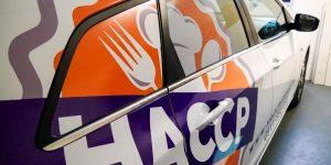 Polepy na auto pre HACCP - TwoAgency