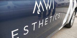 Polep auta pre MWI esthetics - TwoAgency