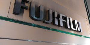 Výroba 3D loga Fujifilm pre AQT Bratislava - TwoAgency