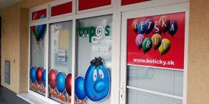 Reklamný polep výkladu pre Tripos Europe - TwoAgency