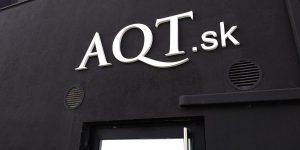 Výroba 3D loga pre AQT Bratislava - Twoagency