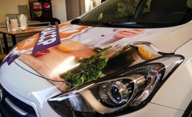 Polepy na auto, Galéria: Polepy na auto