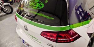 Polep vozidla BioPrego