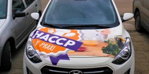Polepy na kapotu auta HACCP - TwoAgency