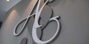 3D logo pre Advokátsku kanceláriu JUDr. Almáši Gabriel
