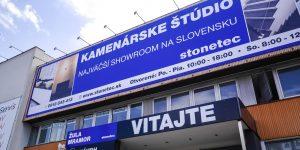 Reklamná plachta - Stonetec