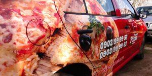 Polepy na pizzaauto pre Fantasy Pizza - TwoAgency