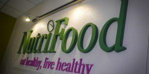 Polystyrénové logo - Nutrifood