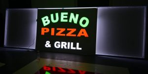 Svietiaci box pre Bueno Pizza - TwoAgency