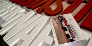 Výroba 3D loga pre Nafekt