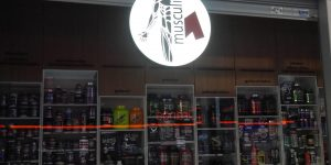 Svietiaca 3D reklama Musculi Central Bratislava - TwoAgency