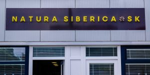 3D reklamná tabula pre Natura Siberica