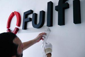Inštalácia 3D loga Fulfillment - TwoAgency