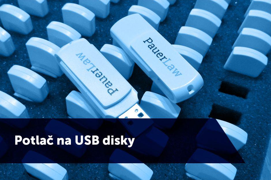 Potlač na USB - TwoAgency