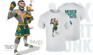 Potlač na tričká, Potlač na tričká a reklamné predmety